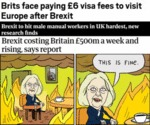 Brits Face Paying £6 Visa Fees To Visit Europe...