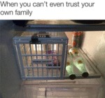 When You Can't Even Trust Your Own Family..