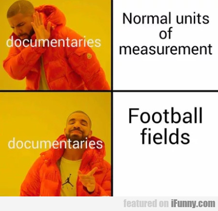 Normal Units Of Measurement - Football Fields