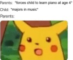Parents - Forces Child To Learn Piano At Age 4...