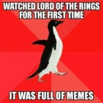 Watched Lord Of The Rings For The First Time...