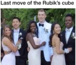 Last Move Of The Rubik's Cube
