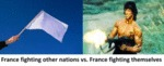 France Fighting Other Nations Vs France Fighting..