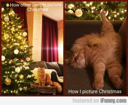 How other people picture Christmas - How I...
