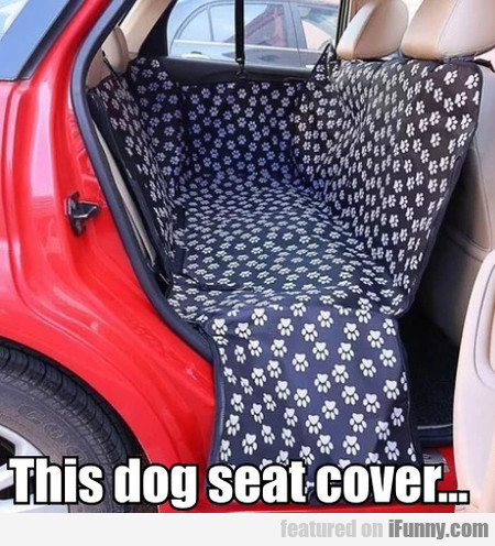 This Dog Seat Cover