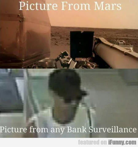 Picture From Mars - Picture From Any Bank
