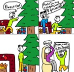 Pwesents! Hah! In My Religion, We Get 8 Presents!