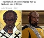 That Moment When You Realize That St. Nicholas...