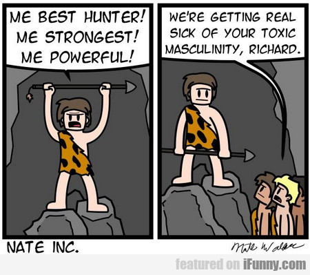 Me Best Hunter! Me Strongest! Me Powerful!