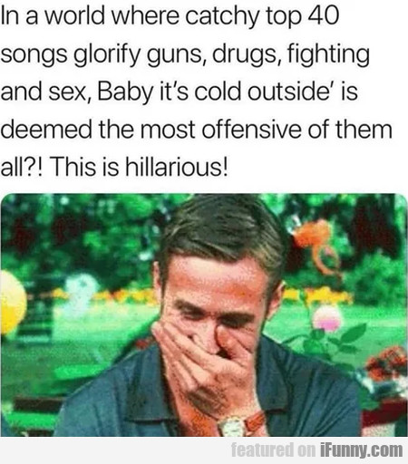 In A World Where Catchy Top 40 Songs Glorify...