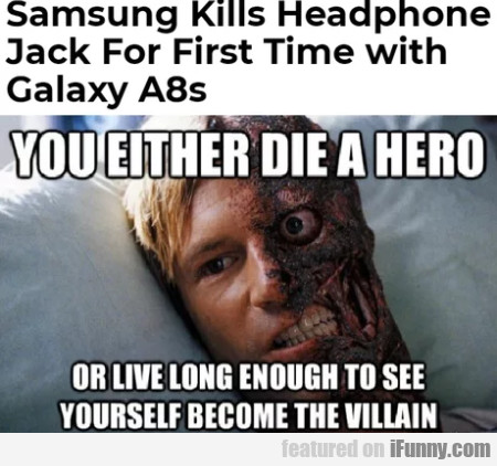 Samsung Kills Headphone Jack For First Time With..