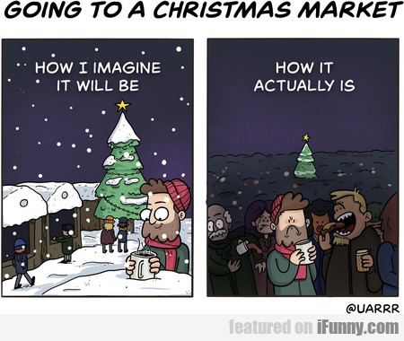Going To A Christmas Market