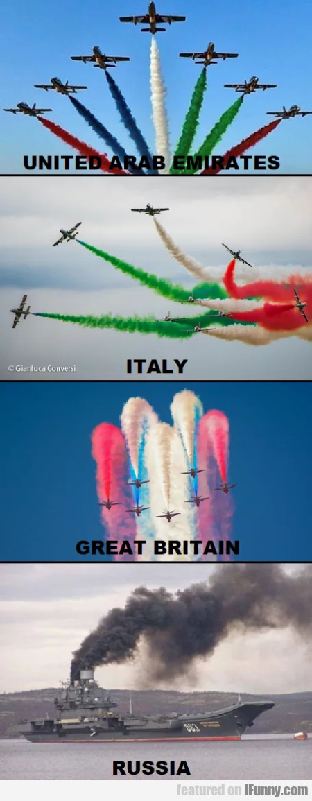 United Arab Emirates - Italy - Great Britain