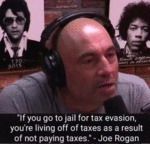 If You Go To Jail For Tax Evasion You're Living...
