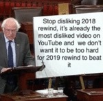 Stop Disliking 2018 Rewind It's Already The...