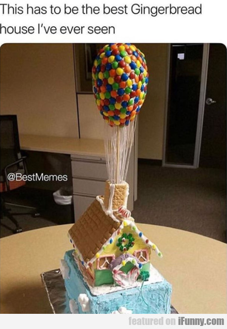 This Has To Be The Best Gingerbread House...