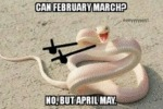 Can February March - No, But April May