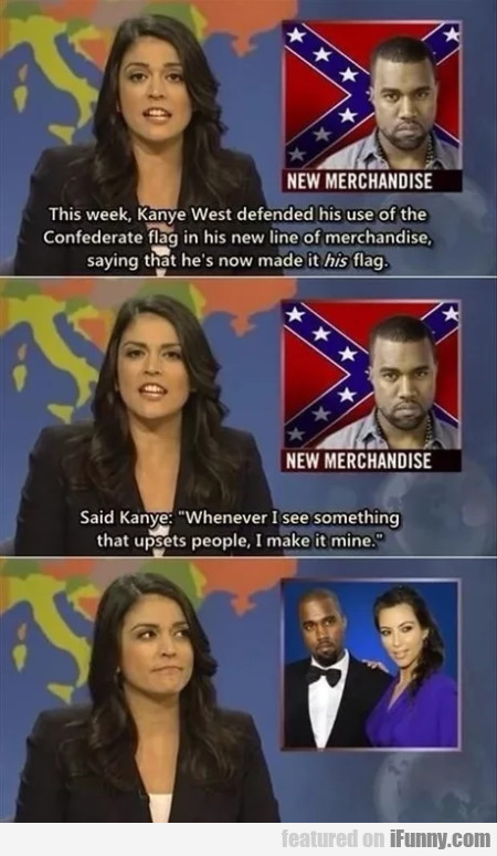 This Week, Kanye West Defended His Use Of...