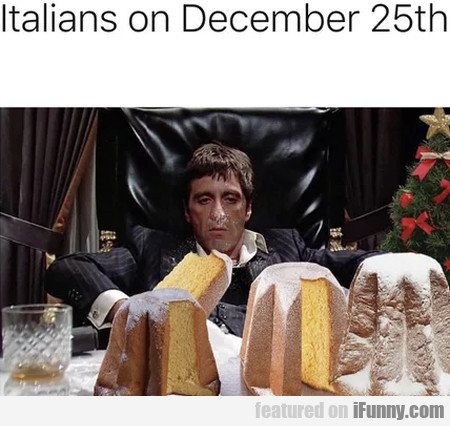Italians On December 25th