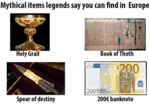 Mythical Items Legends Say You Can Find In Europe