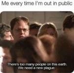 Me Every Time I'm Out In The Public...