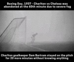 Boxing Day 1937 - Charlton Vs Chelsea