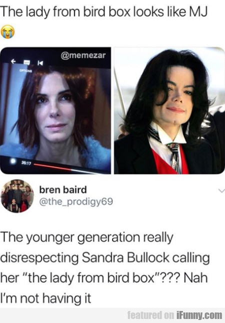 The Lady From Bird Box Looks Like Mj