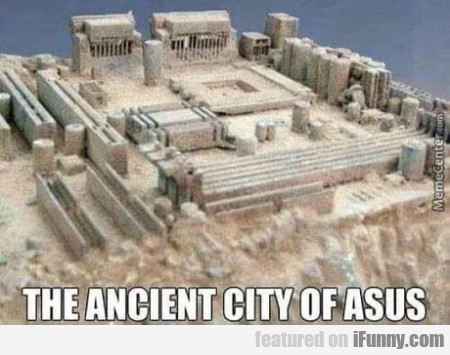 The ancient city of Asus