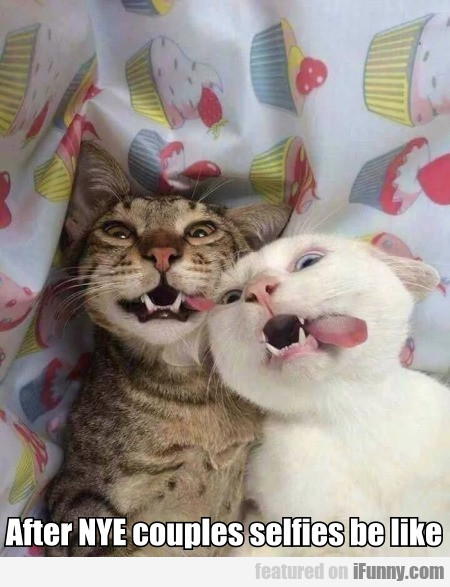 After Nye Couples Selfies Be Like