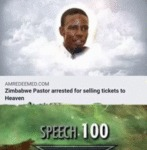Zimbabwe Pastor Arrested For Selling Tickets...