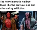 The New Cinematic Hellboy Looks Like The...
