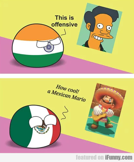 This Is Offensive - How Cool A Mexican Mario