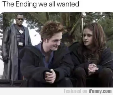 The ending we all wanted