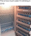This Is How Much Water I'm Drinking In 2019...