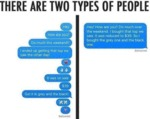 There Are Two Types Of People - Hey - How Are You?