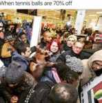 When Tennis Balls Are 70% Off