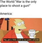 The World - War Is The Only Place To Shoot...