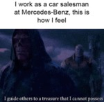 I Work As A Car Salesman At Mercedes-benz, This...