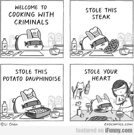Welcome To Cooking With Criminals