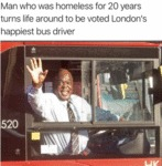 Man Who Was Homeless For 20 Years Turns Life...