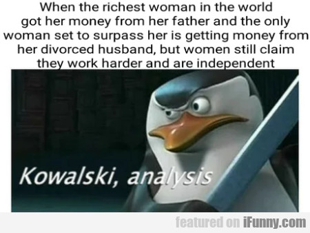 When The Richest Woman In The World Got...