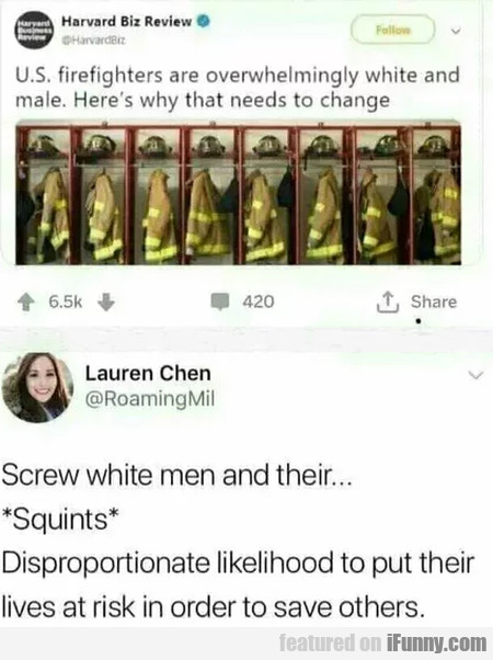 U.s. Firefighters Are Overwhelmingly White And...