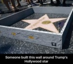 Someone Built This Wall Around Trump's...