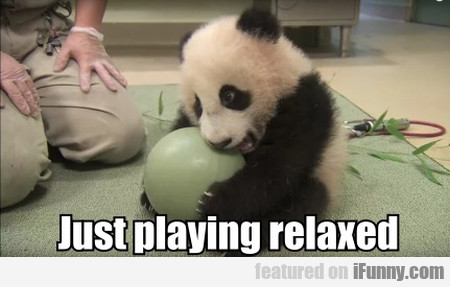 Just playing relaxed