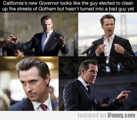 California's New Governor Looks Like The Guy...