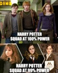 Harry Potter Squad At 100% Power