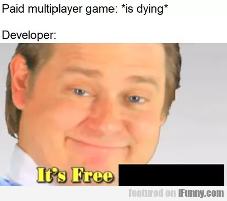 Paid Multiplayer Game - Is Dying - Developer...