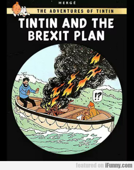 TinTin and the Brexit plan
