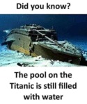 What do you normally do when i 39 m gone - Did the titanic have swimming pools ...