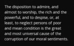 The Disposition To Admire, And Almost To Worship..